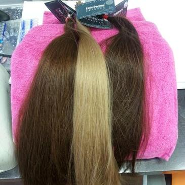 Etensions für Harrverlängerungen bei Friseursalon Nina